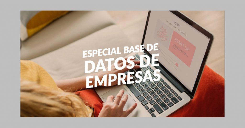 Especial Base de datos de empresas